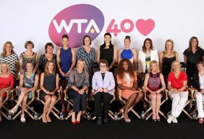 La classifica Wta compie 40 anni...