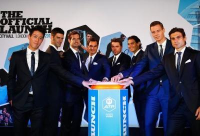 Djokovic con Federer e Murray con Nadal: la presentazione dei gironi di Londra