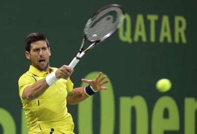 Djokovic esagerato, spazzato via Nadal a Doha