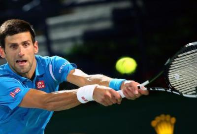 Djokovic si ritira per un problema all'occhio