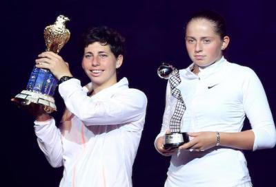 Suarez Navarro campionessa a Doha. Stephens vince la maratona con Cibulkova. Errani perde la finale di doppio