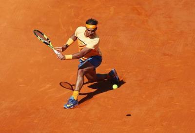 Nadal stende Wawrinka e trova Murray in semifinale