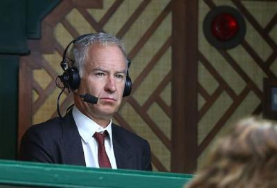 John McEnroe e le telecronache della discordia