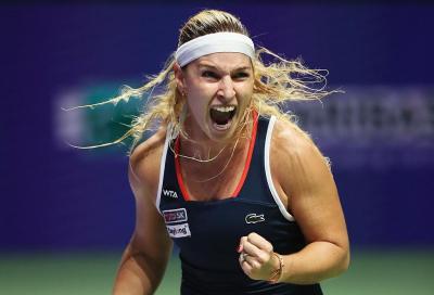 Kerber fa la numero 1 e Cibulkova ringrazia