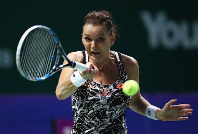 Agnieszka Radwanska centra la semifinale