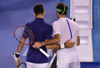 "Federer: ""Credo che Djokovic tornerà n.1"""