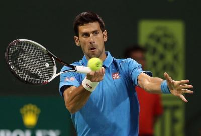 Novak Djokovic e venti minuti con il freno a mano