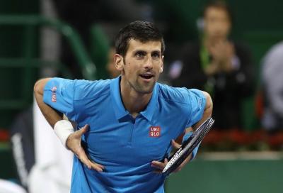 Murray fatica ma vince, Djokovic si concede un selfie