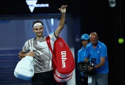 A intermittenza, ma è sempre Federer