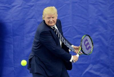 Trump and Tennis in the White House