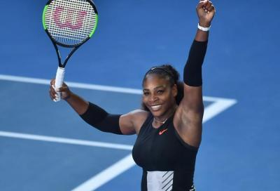 Serena spietata: sarà finale in famiglia