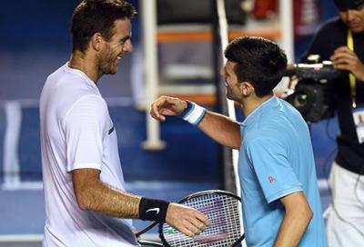 Vince Djokovic, ma Del Potro è già super