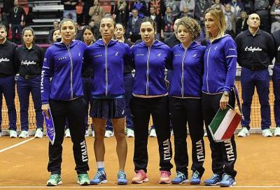 Fed Cup: Italia-Taiwan si giocherà a Barletta