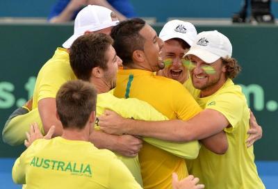 Kyrgios ha preso in mano l'Australia