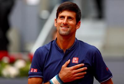 La prima vittoria dell'orfano Djokovic