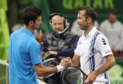 Suggestione Stepanek per Djokovic