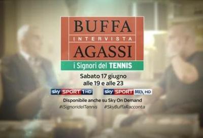 Sky: Federico Buffa intervista Andre Agassi