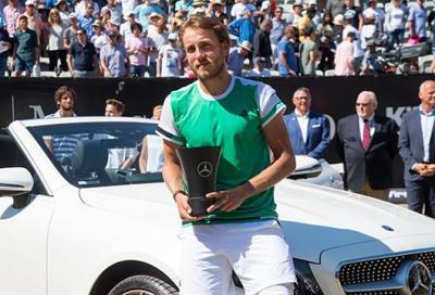 La Mercedes di Federer finisce a casa Pouille