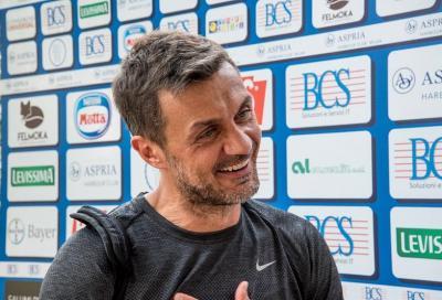 Paolo Maldini tennista per un giorno