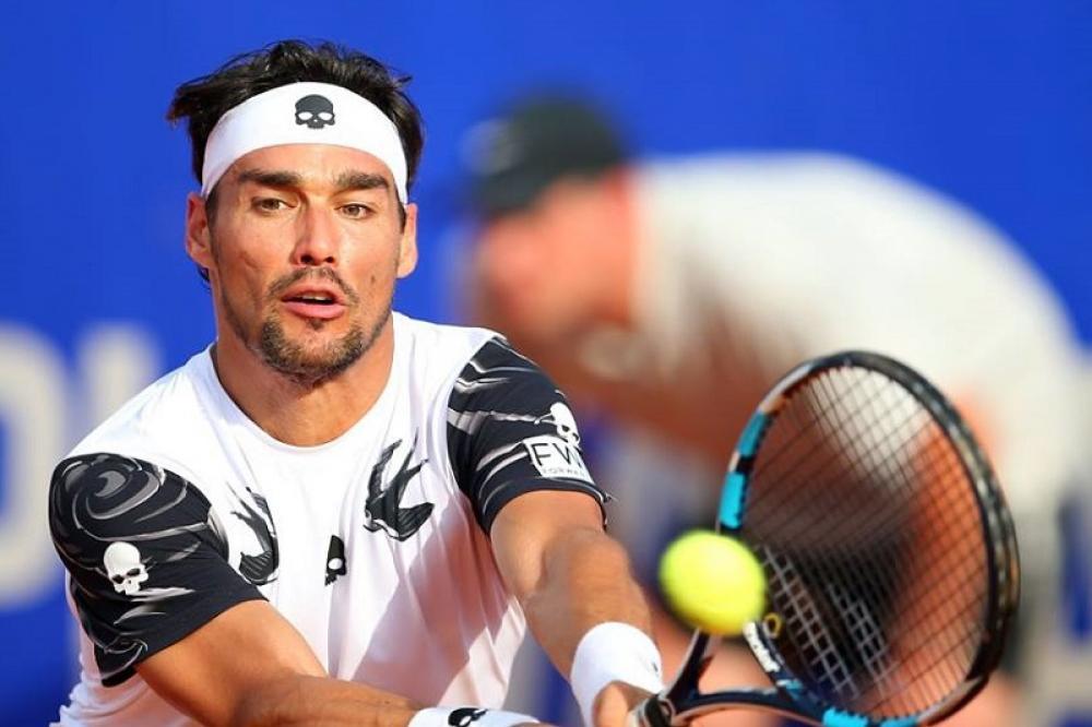 Tennis: Fabio Fognini e Andrey Rublev si cancellano dall