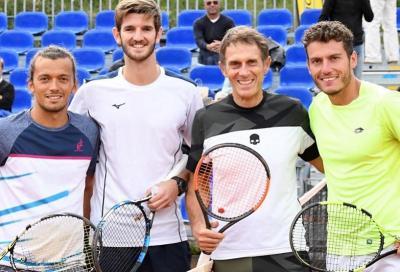 Cortina: esordio ATP per Stefano Meloccaro, 53 anni