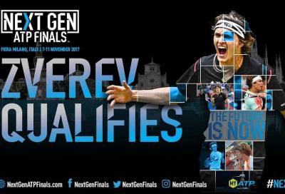Next Gen Finals: Zverev è il primo qualificato
