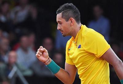 In Coppa Davis è tutto un altro Kyrgios