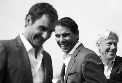 Rafa sempre più all'inseguimento di Federer