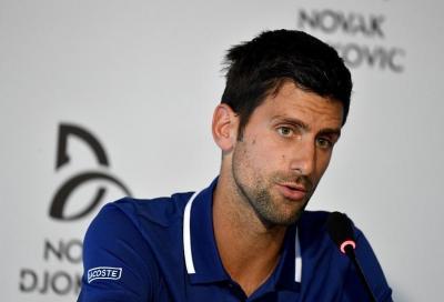 Djokovic non ha ancora ripreso a palleggiare