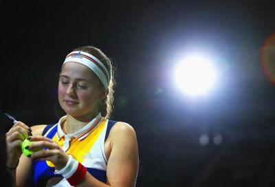 Jelena Ostapenko ripartirà da David Taylor