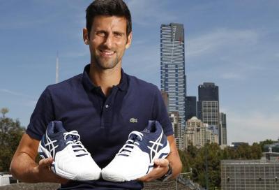 Le nuove scarpe di Novak Djokovic