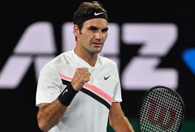 Al fresco della sera, Federer non corre rischi