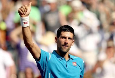 Rientro lampo di Djokovic, ottavo Federer-Fognini?