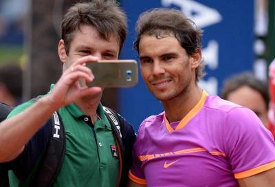 Il re dei selfie sogna una foto con Federer