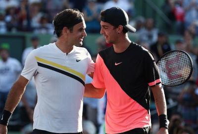 Dalla depressione alla gioia, nel segno di Federer