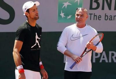 Addio Agassi-Djokovic: «spesso in disaccordo»