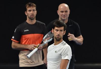 """Djokovic """"rompe"""" anche con Stepanek"""