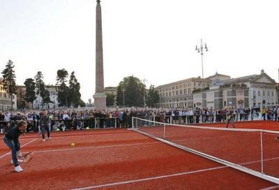 Vince il Codacons: niente tennis in Piazza del Popolo
