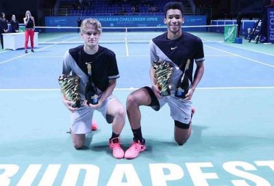I ragazzi del 2000 all'ASPRIA Tennis Cup