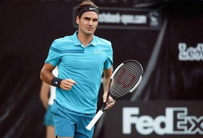 """Roger """"vede"""" il n. 1 ATP, ma deve battere Kyrgios"""