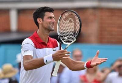 Djokovic ritrova i prati e torna a respirare