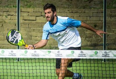 Enrico Burzi, il tennista che gioca a padel