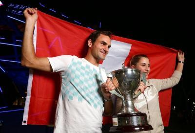 Federer anche nel 2019: sì alla Hopman Cup