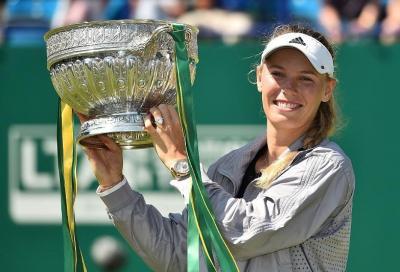"""Caroline fa 29 e """"punta"""" Wimbledon"""