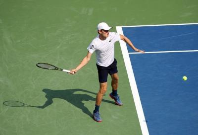Un David belga in un tennis pieno di Golia