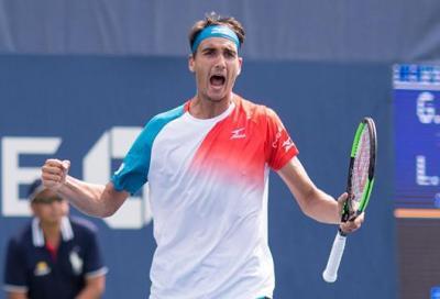 L'addio al tennis di Muller è griffato Sonego