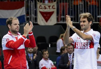 """Federer e Wawrinka in Davis? Difficile"""