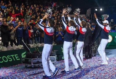 La Davis verso Madrid... con il sogno Federer