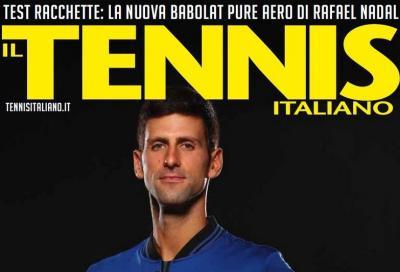 Il Tennis Italiano è in edicola (e in digital)