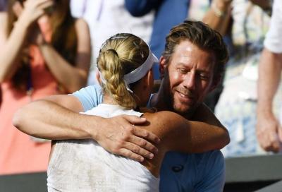 Angelique Kerber e Wim Fissette si separano!